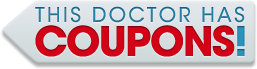 This doctor has coupons!