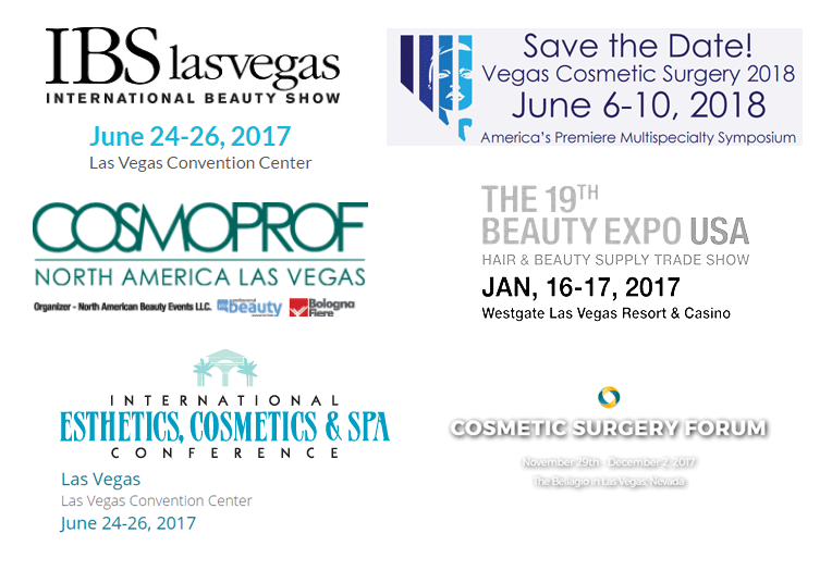 Las Vegas NV - Beauty Shows and Conventions 2017-2018